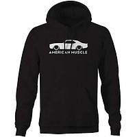 Champs Supply American Muscle Camaro SS z28 Racing V8 CarHoodies for Men