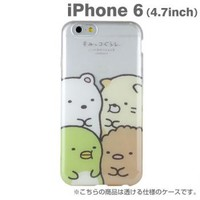 Strapya World : San-X Sumikko Gurashi Soft Clear Case for iPhone 6 (Snuggle)