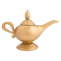 Disney by Vandor Aladdin Lamp Sculpted Ceramic Teapot New with Box