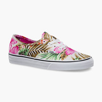 VANS Hawaiian Floral Authentic Womens Shoes   Sneakers