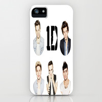 One Direction iPhone & iPod Case by Jessica Rose