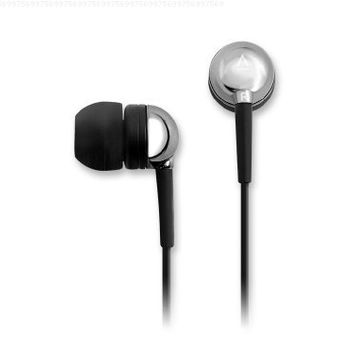 Creative EP-650 In-Ear Noise Isolating Headphones (Chrome) (Discontinued by Manufacturer)
