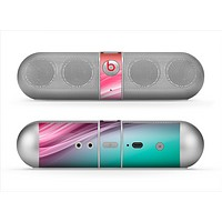 The Red to Green Electric Wave Skin for the Beats by Dre Pill Bluetooth Speaker