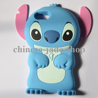 3D Stitch Silicon Case Cover for apple iphone 5 the new iphone 1PC/LOT