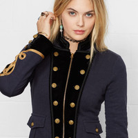 COTTON OFFICER'S JACKET