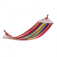 Bahama Red Stripes Single Hammock