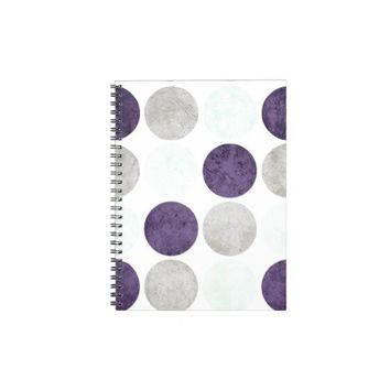 Circles 2 spiral notebook from Zazzle.com
