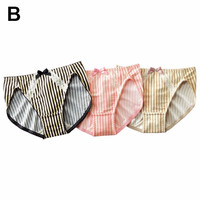 Cotton Blend Panties 3-Pack - Panties - nissen Global - online store for clothing