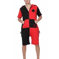 Uni ZOOOPY Fleece Black and Red Spade : ZOOOP iT UP