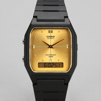 Casio Classic Analog Digital Square Watch - Urban Outfitters
