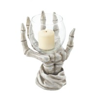 Skeleton Hand Votive Candle Holder