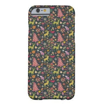 Seamless Patchwork Christmas Pattern iphone 6 Case