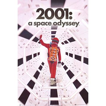 """2001: A Space Odyssey Movie Art Poster (24""""x36"""")"""