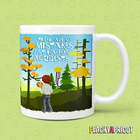 Bob Ross - Happy Accidents Mug