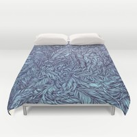 Feather story Duvet Cover by Ankastan