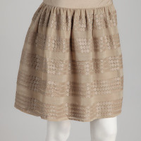 Taupe Keely Skirt