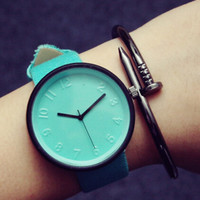 Women Men Candy Color Watch Bracelet + Christmas Gift Box-30