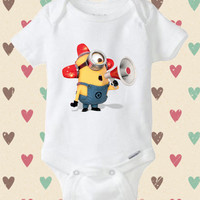 Despicable me minion - baby shirt Onesuit, mickey mouse baby Onesuit, mickey mouse baby Onesuit, Baby Clothing, Baby cute Onesuit, baby Onesuit