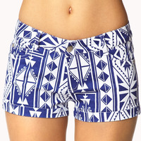 World Traveler Denim Shorts