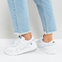 Asics Gel-Lyte Trainers In White at asos.com