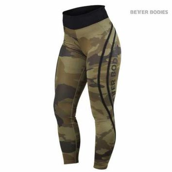 Better Bodies High Waist Camo Tights