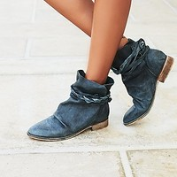 Free People Womens Moonshine Wrap Boot