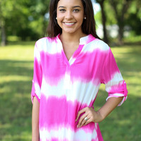 Crystal Tunic - Pink
