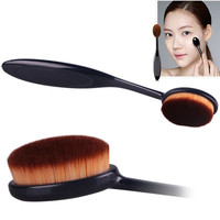 Sanwony New Pro Cosmetic Makeup Face Powder Blusher Toothbrush Curve Foundation Brush