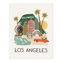 Los Angeles Art Print by RIFLE PAPER Co.   Made in USA