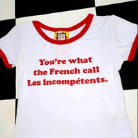 SWEET LORD O'MIGHTY! LES INCOMPETENTS RINGER TEE