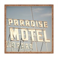 Catherine McDonald Paradise Motel Square Tray | DENY Designs Home Accessories