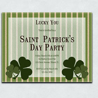 Saint Patrick's Day Party Invitations
