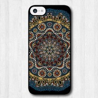 1 X For iPhone 5C Case,Fashion Design Floral Lace Pattern Protective Hard Phone Cover Skin Case For iPhone 5C +Screen Protector