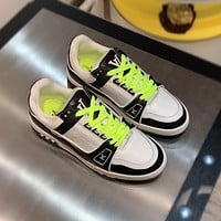 lv louis vuitton womans mens 2020 new fashion casual shoes sneaker sport running shoes 2
