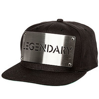 Karl Alley Hat Legendary in Black and Silver