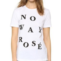 No Way Rose T-Shirt
