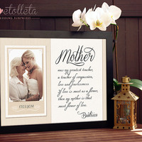 Gift for Mother of the Bride Gift - Mother Thank You Gift, Mother of the Groom gift, Mother of the Bride Frame, Mother In Law Gift