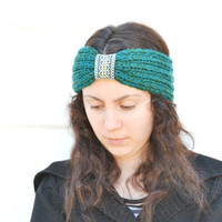 Knitted Headband Hairband Summer Spring Turban Headband Earwarmer
