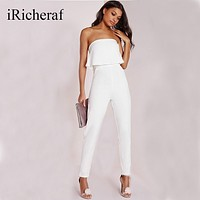 Elegant Women Sleeveless Jumpsuit