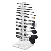 Acrylic Brush Organizer & Beauty Care Holder Containes 12 Space Storage | byAlegory Makeup Organizer - Walmart.com