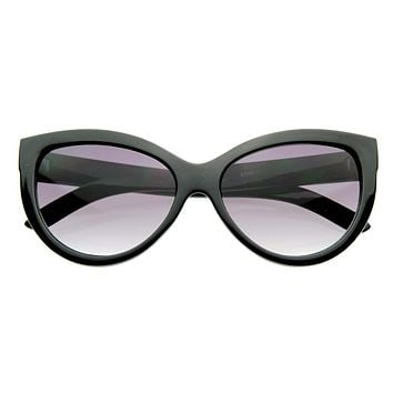 Womens Designer High Temple Modern Cat Eye Sunglasses 8217
