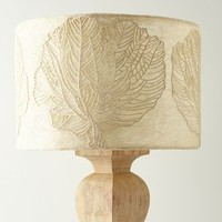 Loomed Palmae Lampshade by Anthropologie