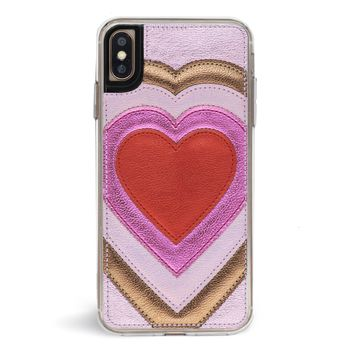 Patchwork Heart iPhone Case