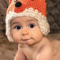 Fox Crochet Knit Hat Outfit - LAST CALL