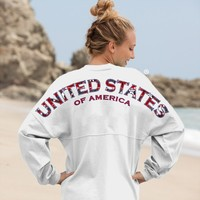 United States, Of America - American Preppy Classic Spirit Football Jersey®