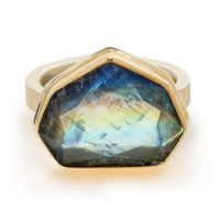 Jamie Joseph Rainbow Moonstone Ring
