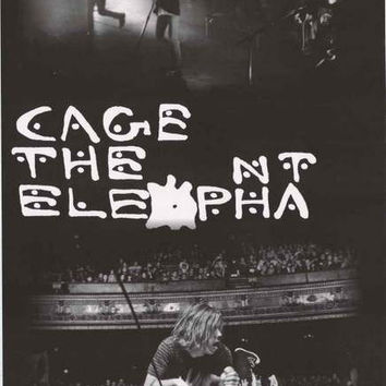 Cage the Elephant Band Poster 24x36