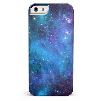 Azure Nebula iPhone 5/5s or SE INK-Fuzed Case