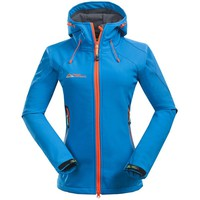 2017 Women Softshell Hiking Jackets Outdoor Camping Escalada Coats Thermal Waterproof Windproof Spring Female Jackets RW001