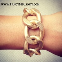 Gold Link by Fancy Me Candy